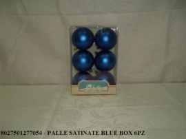 PALLE SATINATE BLUE BOX 6PZ