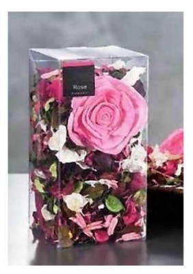 POT POURRI PER DECORAZIONE E PROFUMAZIONE CONFEZIONE PVC ASSORTIMENTO 5 FRAGRANZE 200 gr.